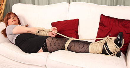 british tgirl luci may all tied up