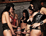 kelly ohana and shemale friends dominate slave boy