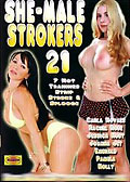 Carla Novais in Shemale Strokers 21